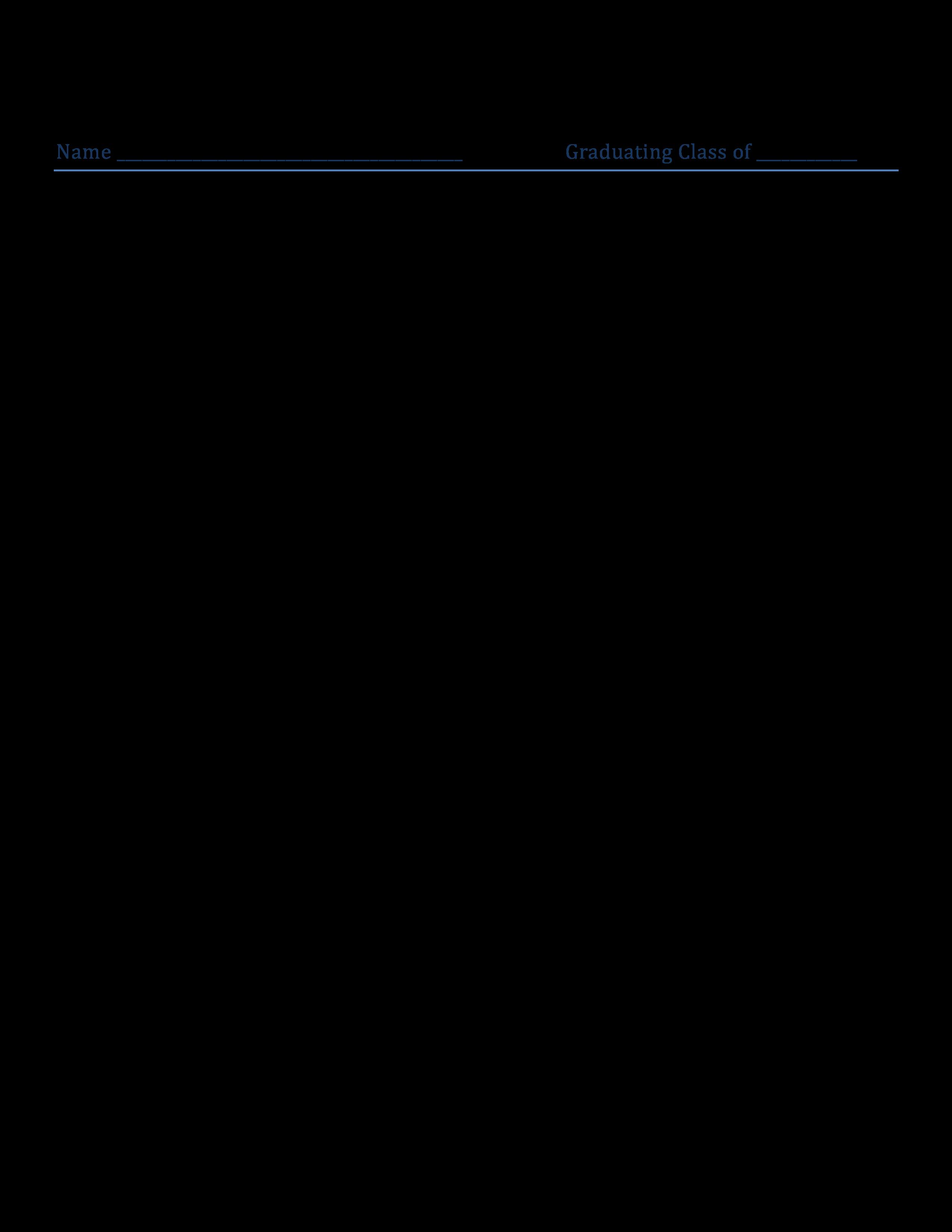 Profile Sheet Main Image Template