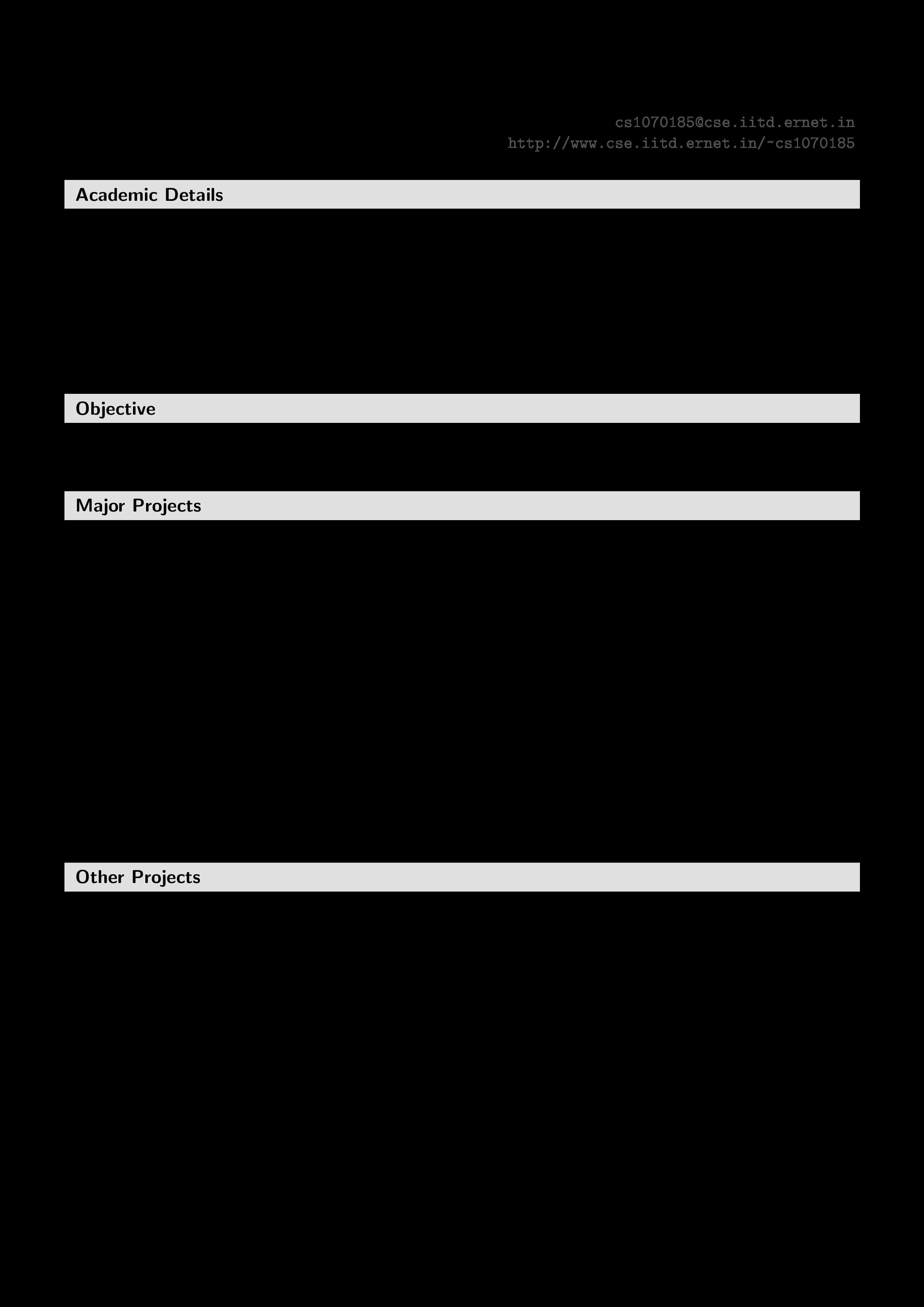 Free Fresher Resume Sample Templates At Allbusinesstemplates Com