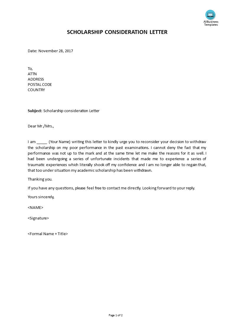 Withdraw From Consideration Letter from www.allbusinesstemplates.com