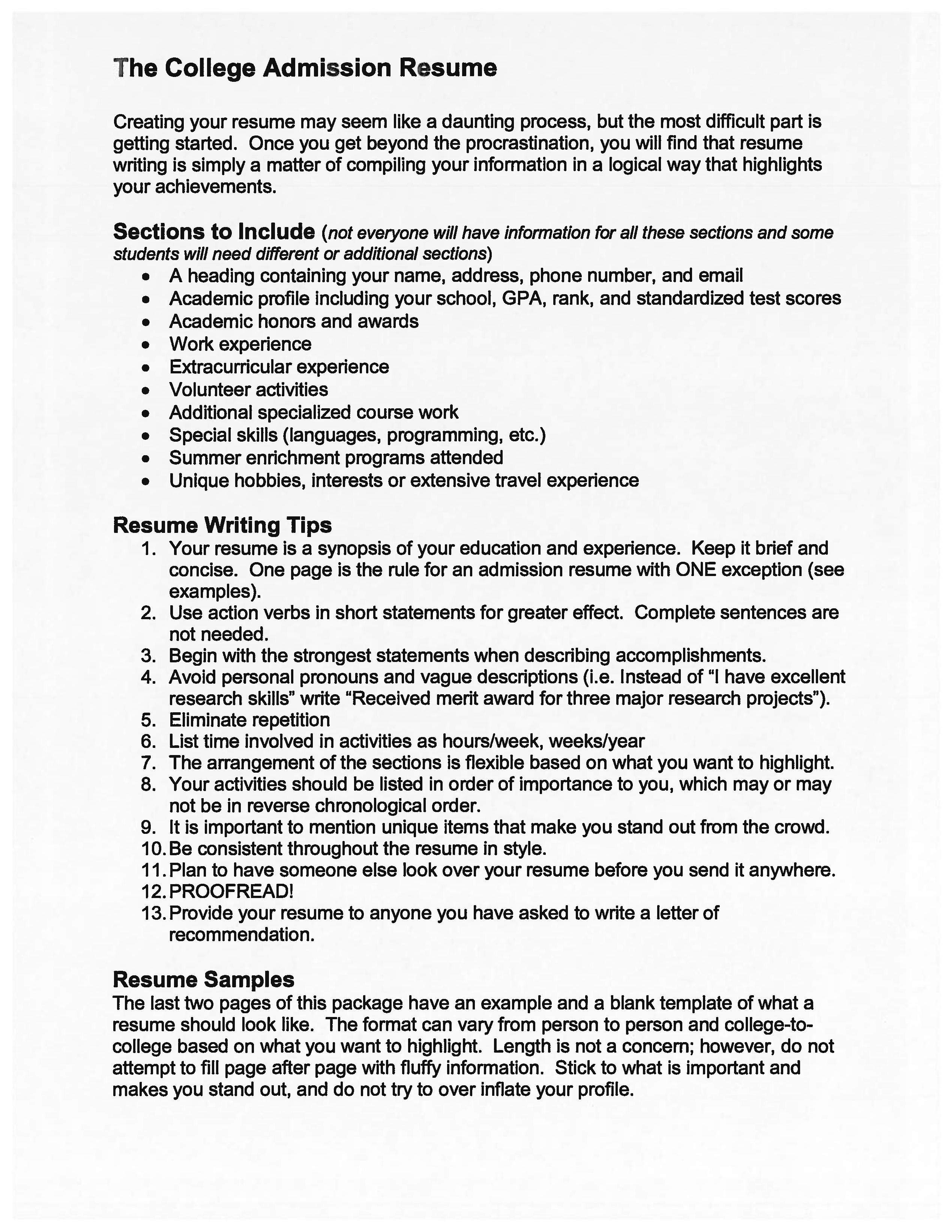high school graduate education resume
