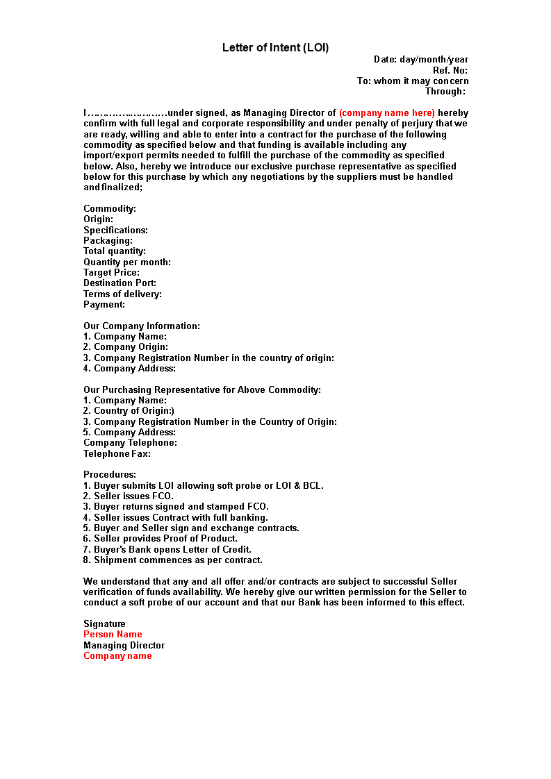 Sample Contract Letter Of Intent | Templates at ... on letter of intent template pdf, letter of intent template rfp, letter of interest template microsoft, bill of sale template microsoft word, letter of resignation template microsoft word, cover letter template microsoft word, letter of intent agreement template, professional letter template microsoft word, letter of intent template real estate, letter of intent word doc, thank you letter template microsoft word, certificate of origin template microsoft word, formal business letter template microsoft word, letter of intent template project, letter of intent examples business, letter of intent to purchase, official letter template microsoft word, letter of intent to lease commercial space, christmas letter template microsoft word, resignation letter sample microsoft word,