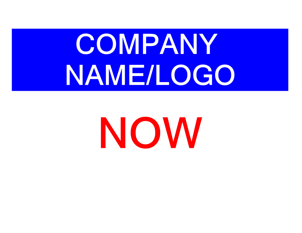 now hiring sign template now hiring sign template main image