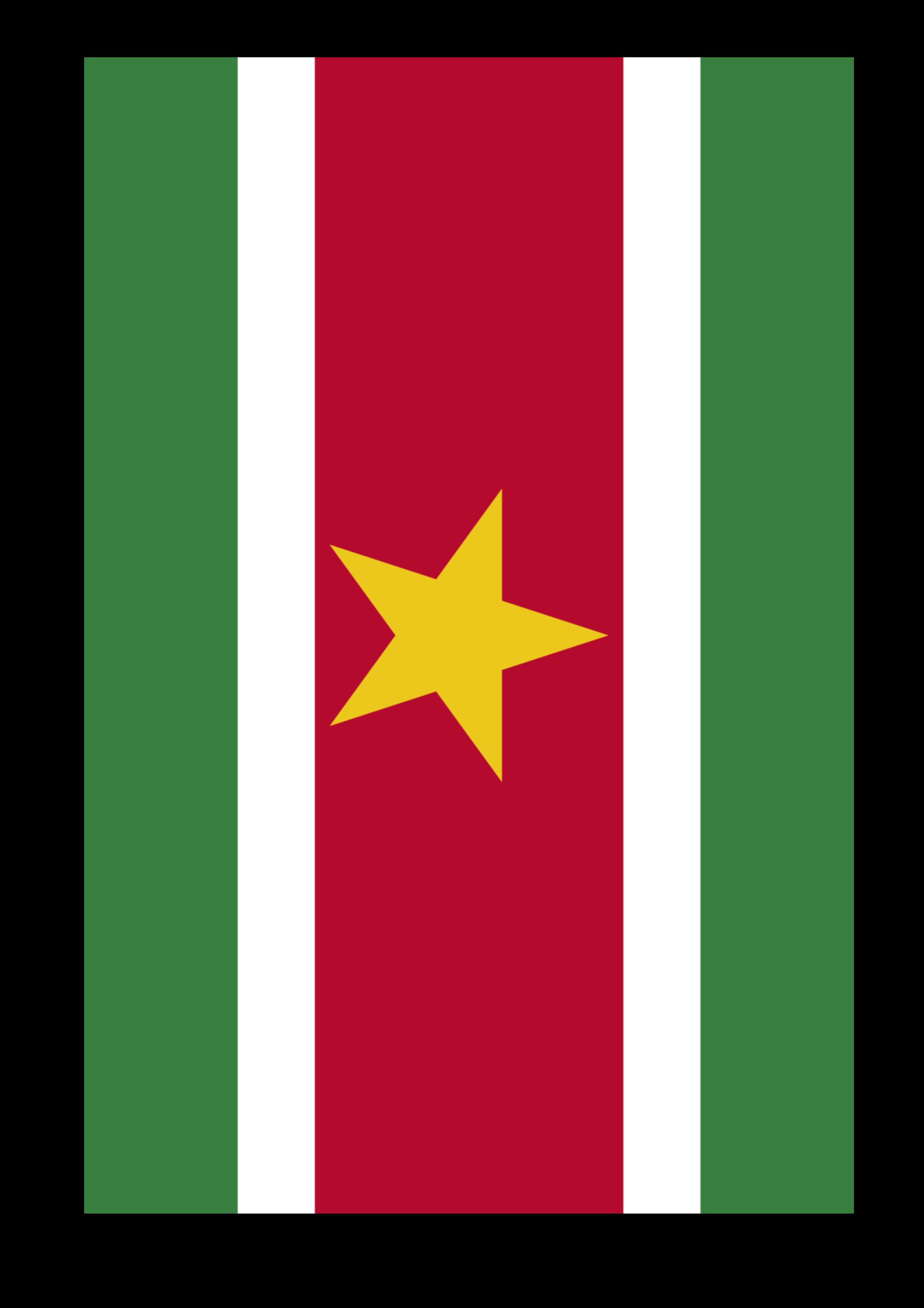 suriname printable flag