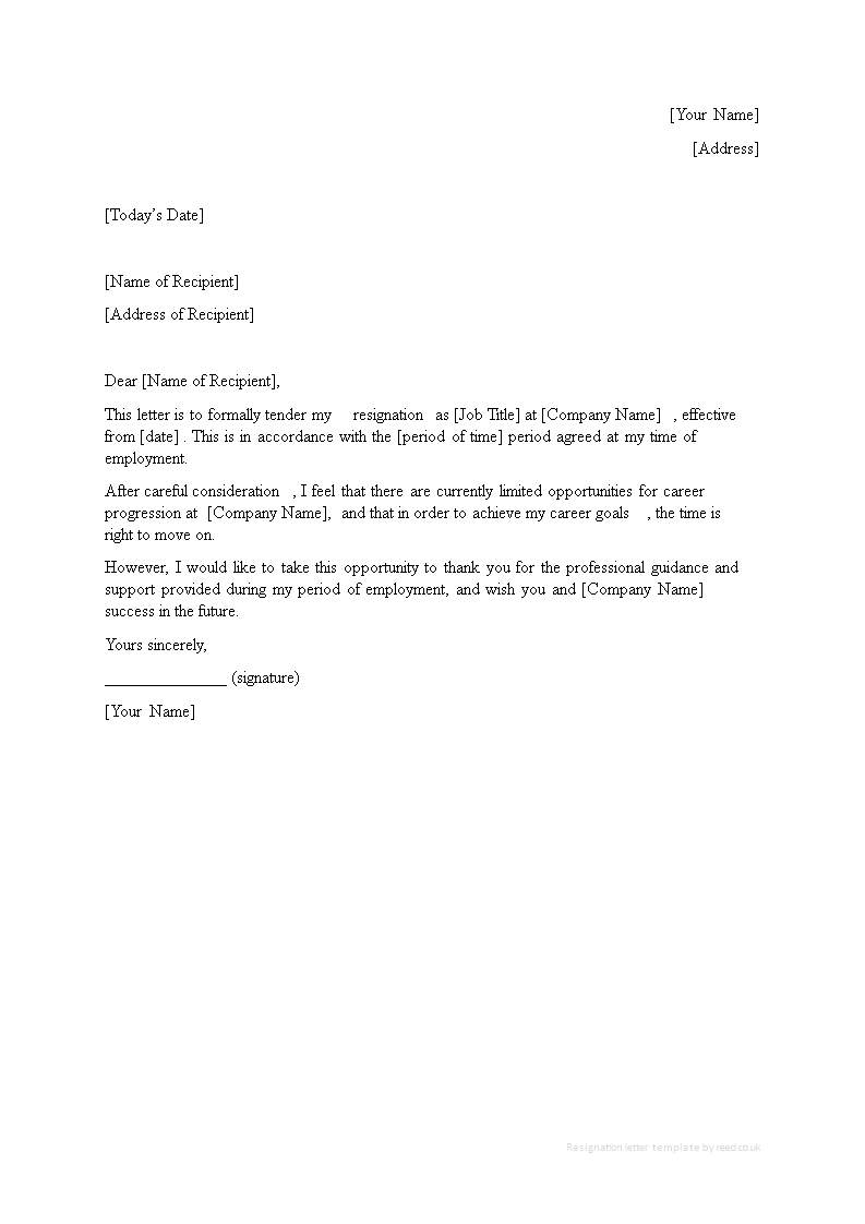 free new job resignation letter with no notice templates at