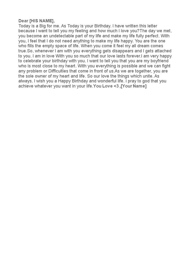 birthday letter to boyfriend main image