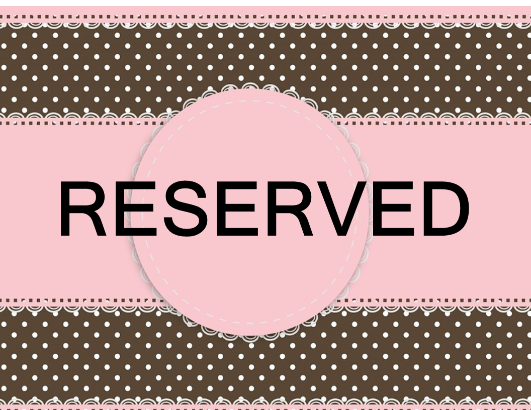 Free Reserved Sign | Templates at allbusinesstemplates.com
