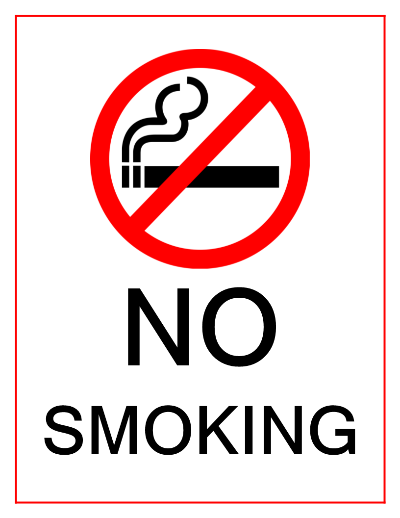 Satisfactory image with regard to free printable no smoking signs