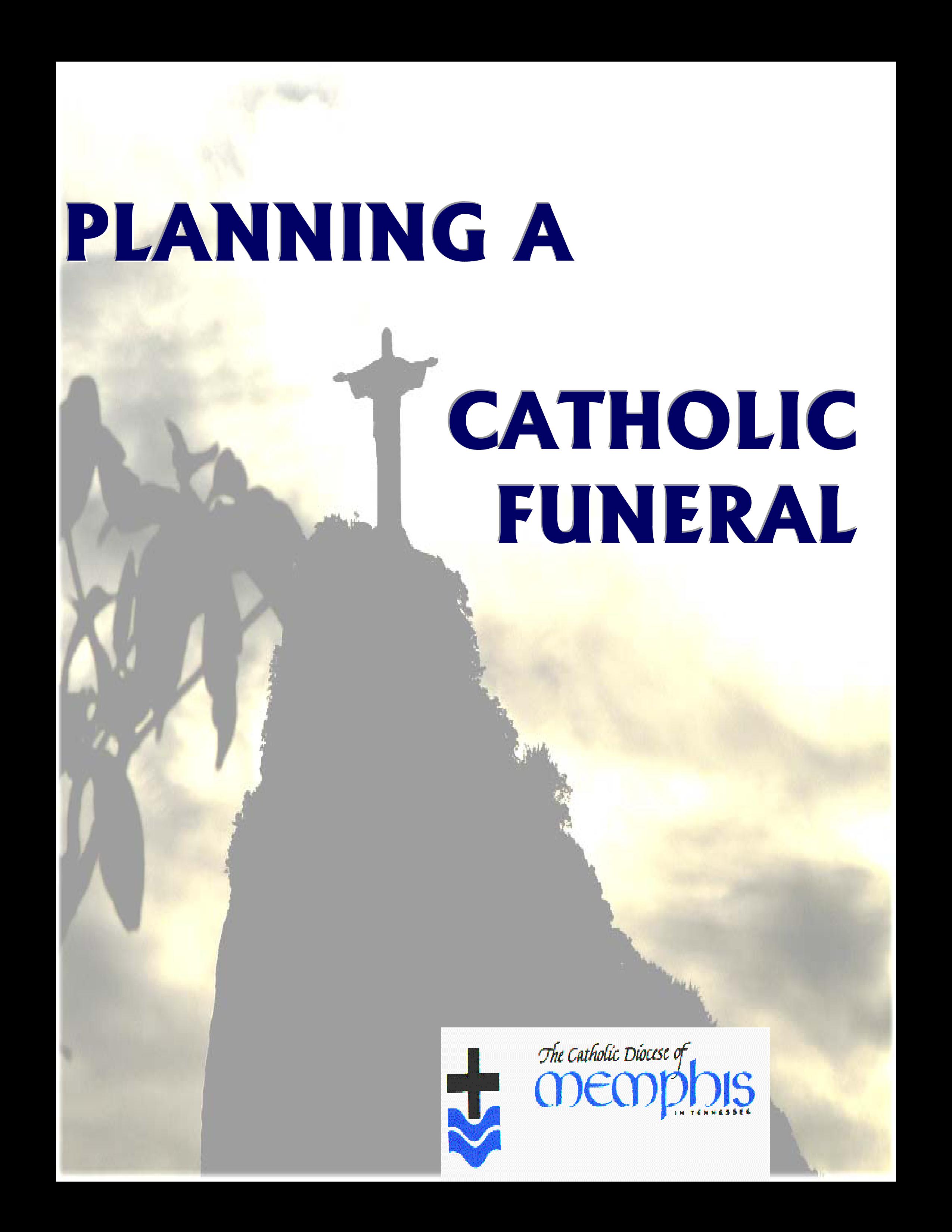 Free Catholic Funeral Mass Program Templates At