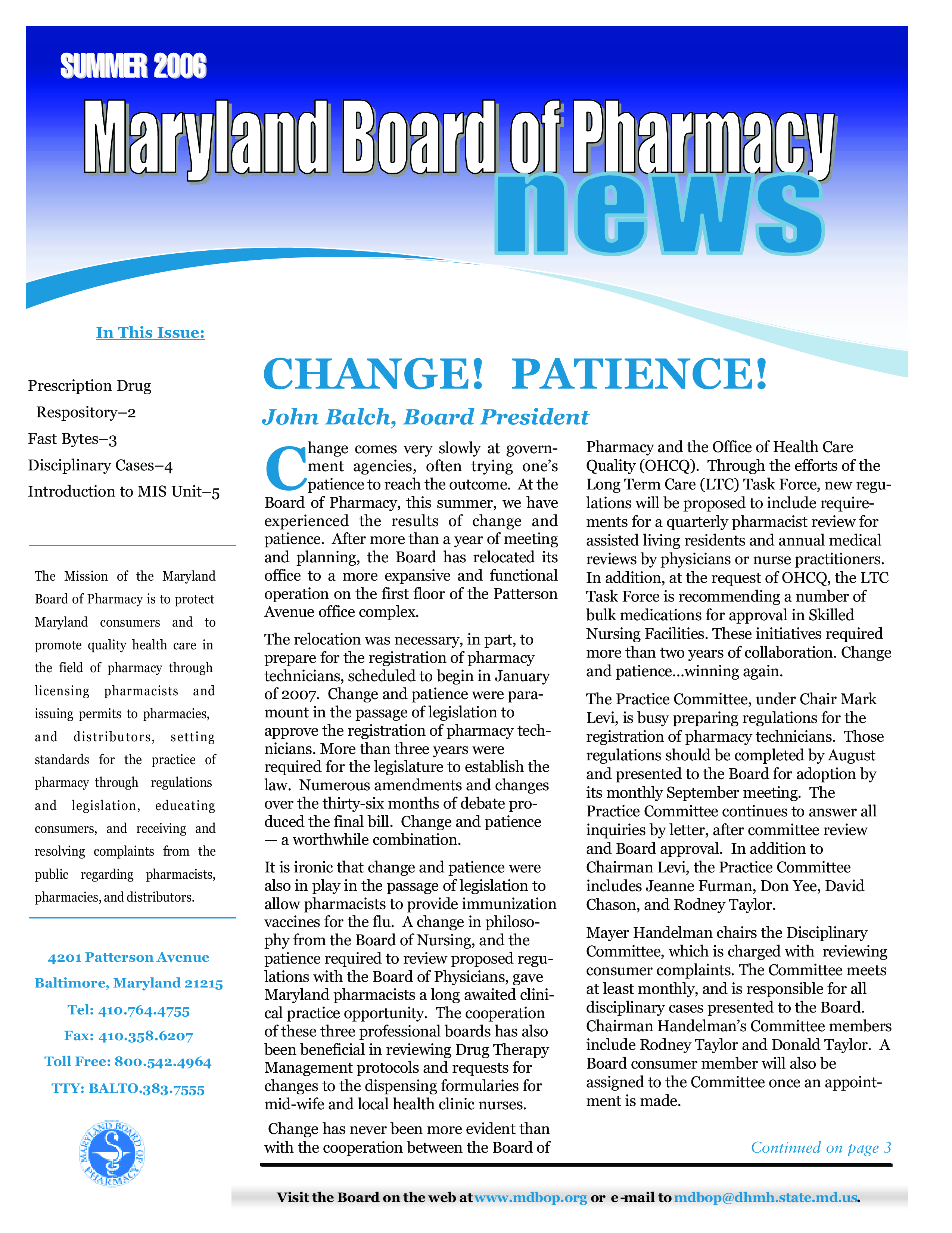 free summer newsletter pharmacy templates at