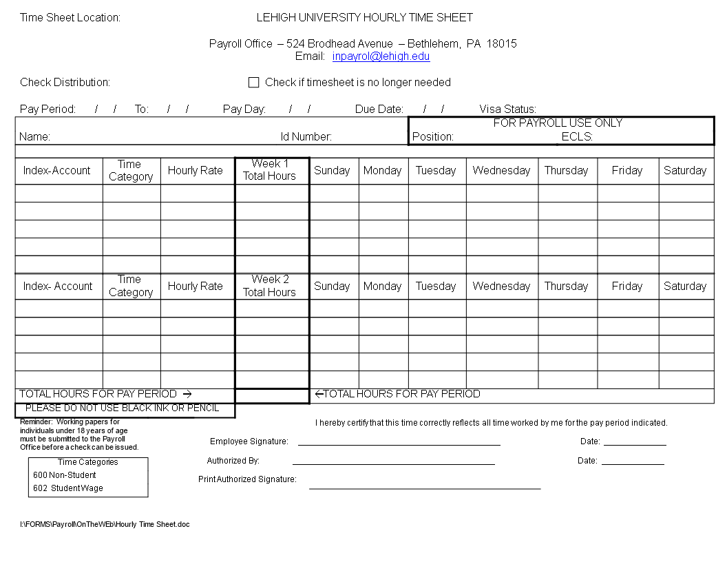 free payroll timesheet template templates at
