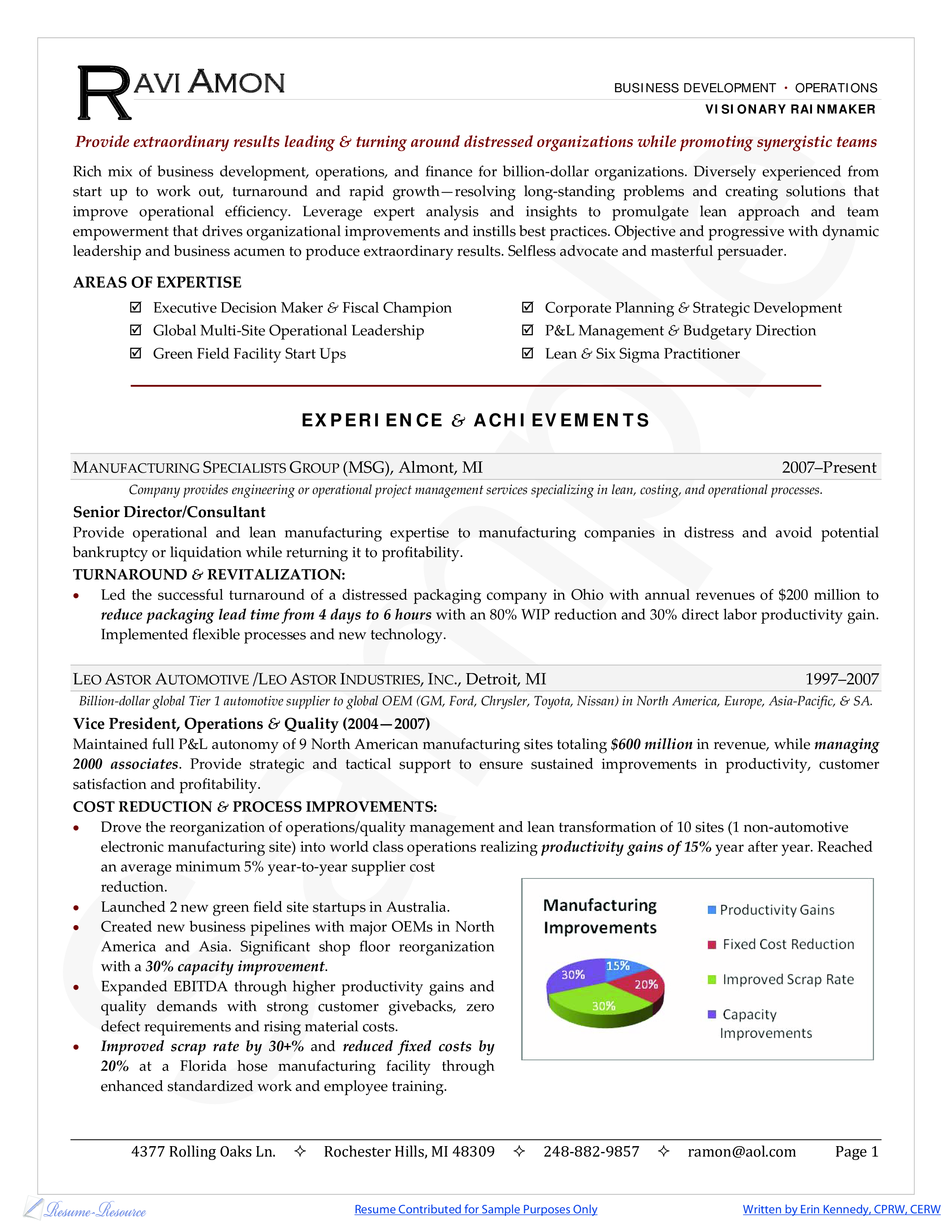 Business Development Manager Resume Templates At Allbusinesstemplates Com