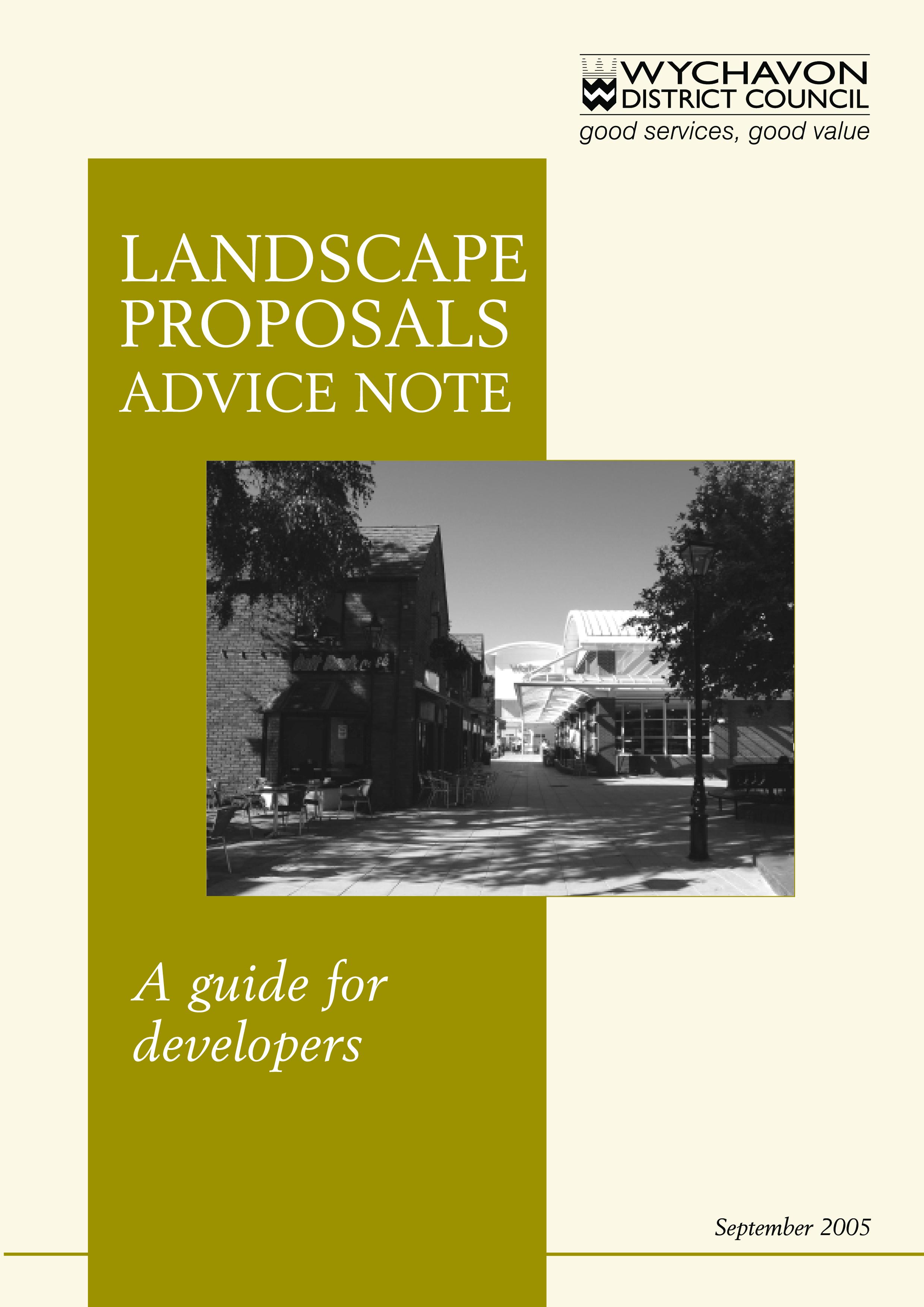 Free Heritage Landscape Proposal Templates At Allbusinesstemplates Com