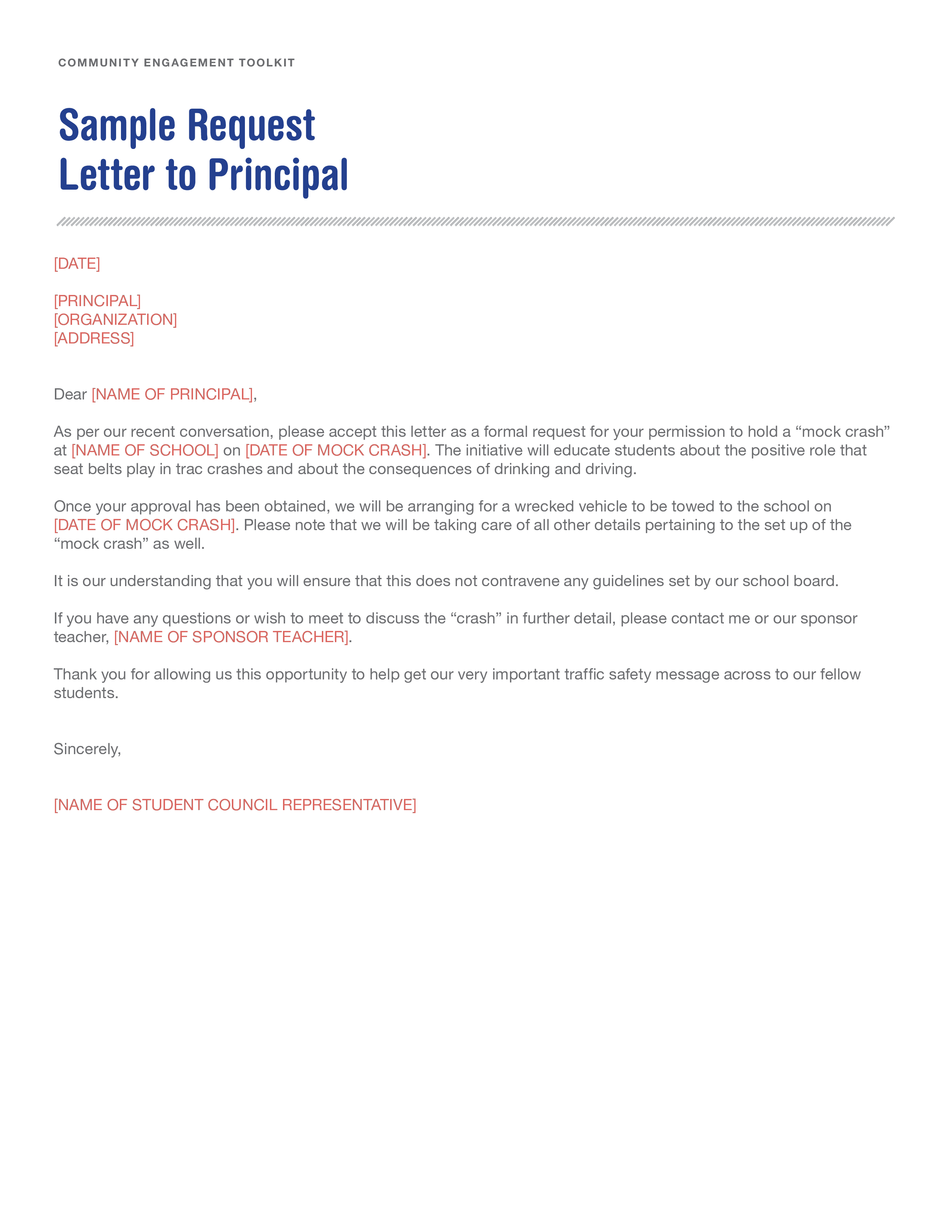 Free Formal Holiday Request Letter  Templates At
