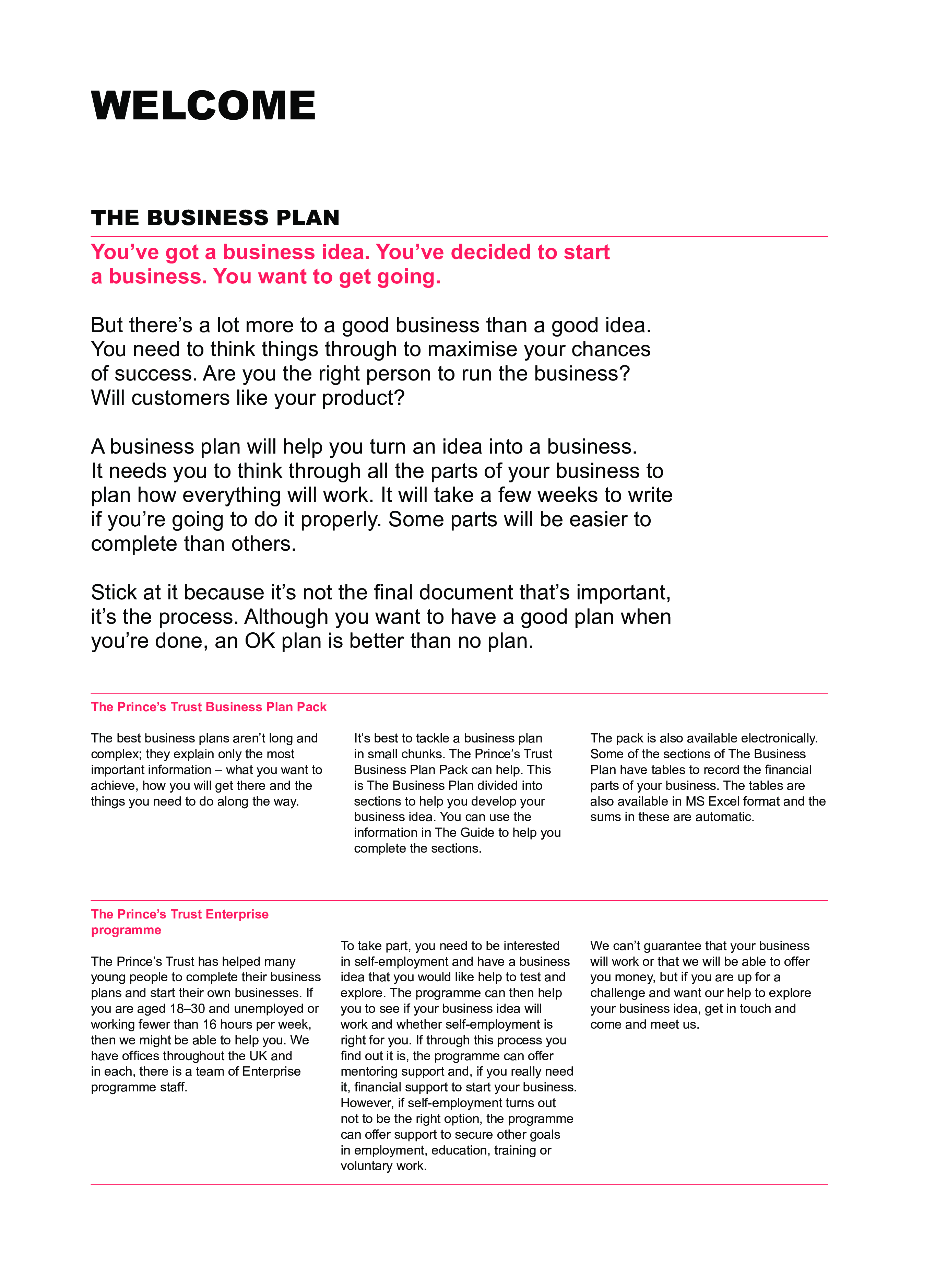 Free simple business plan template templates at simple business plan template wajeb Choice Image