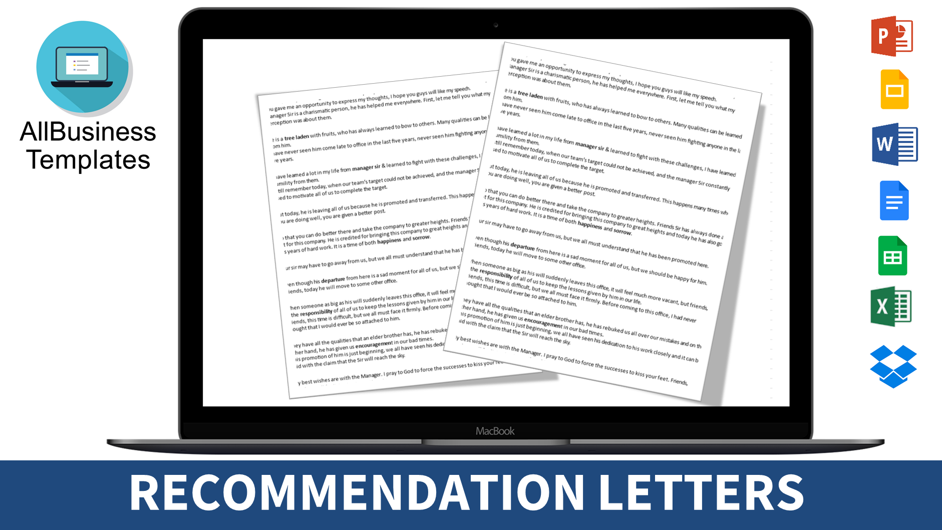 Free Academic Letter Of Recommendation Template Templates At