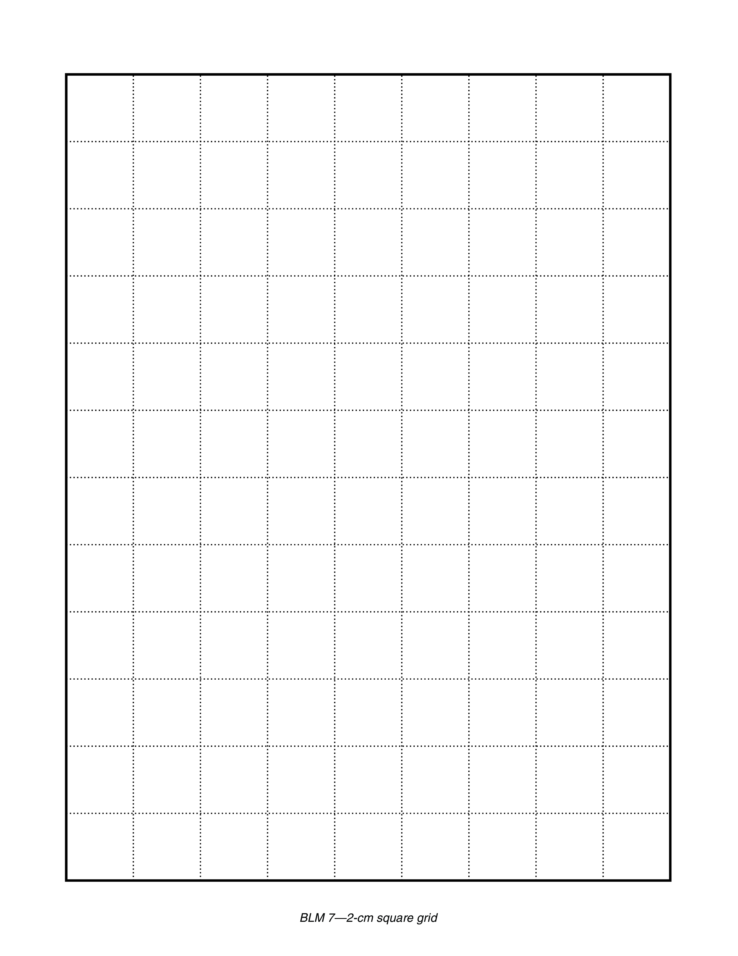 Blank Grid Paper Printable Sheets main image