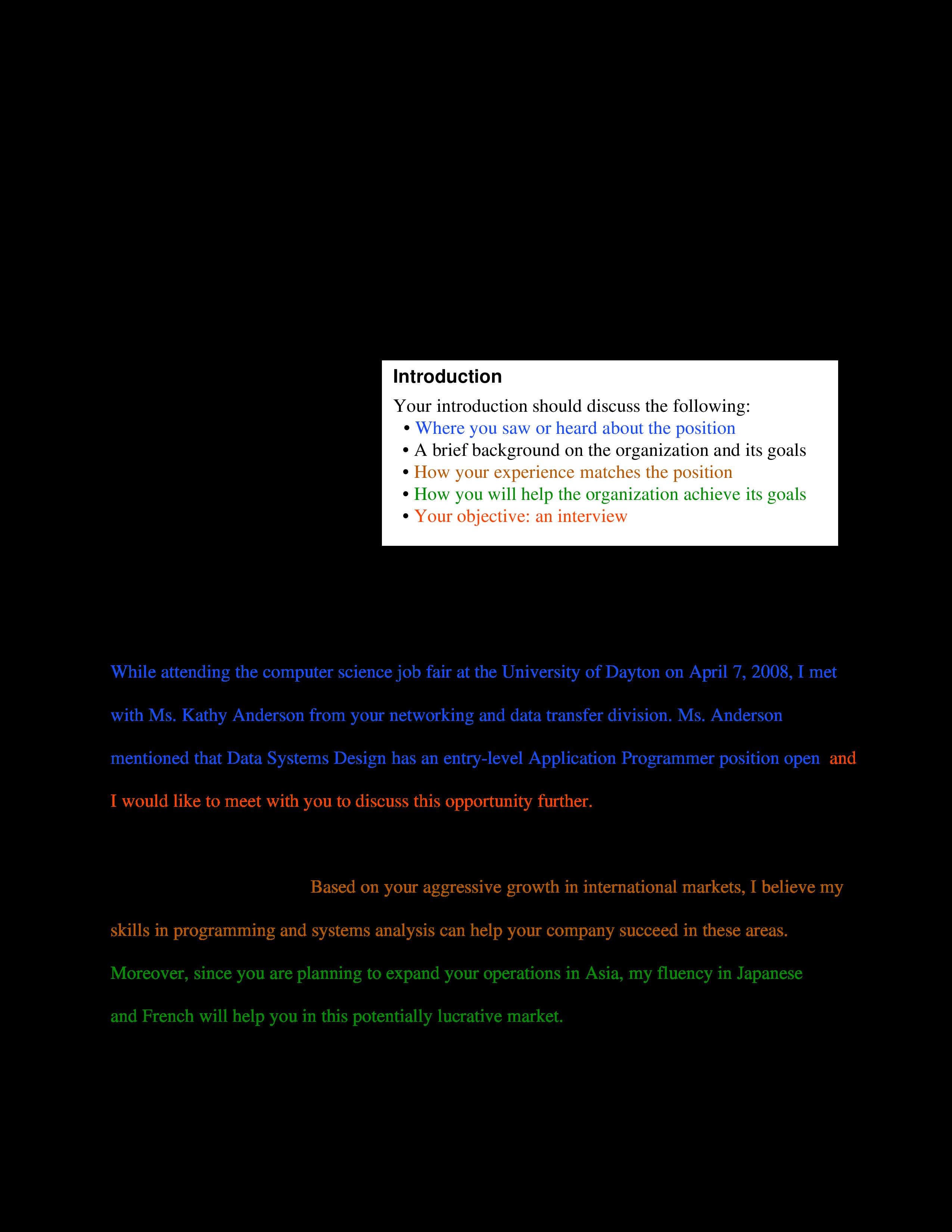 formal job application email  templates at