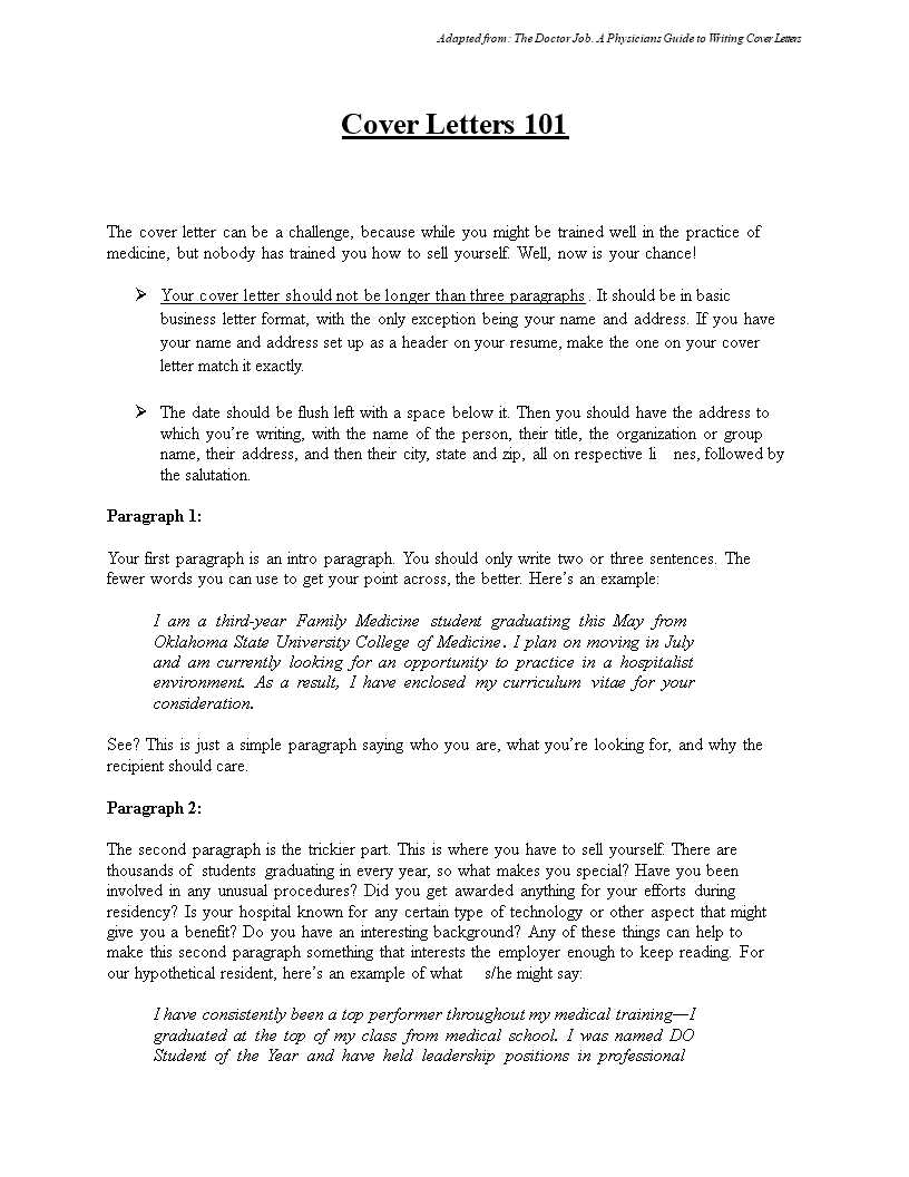 Sample Job Application Letter from www.allbusinesstemplates.com