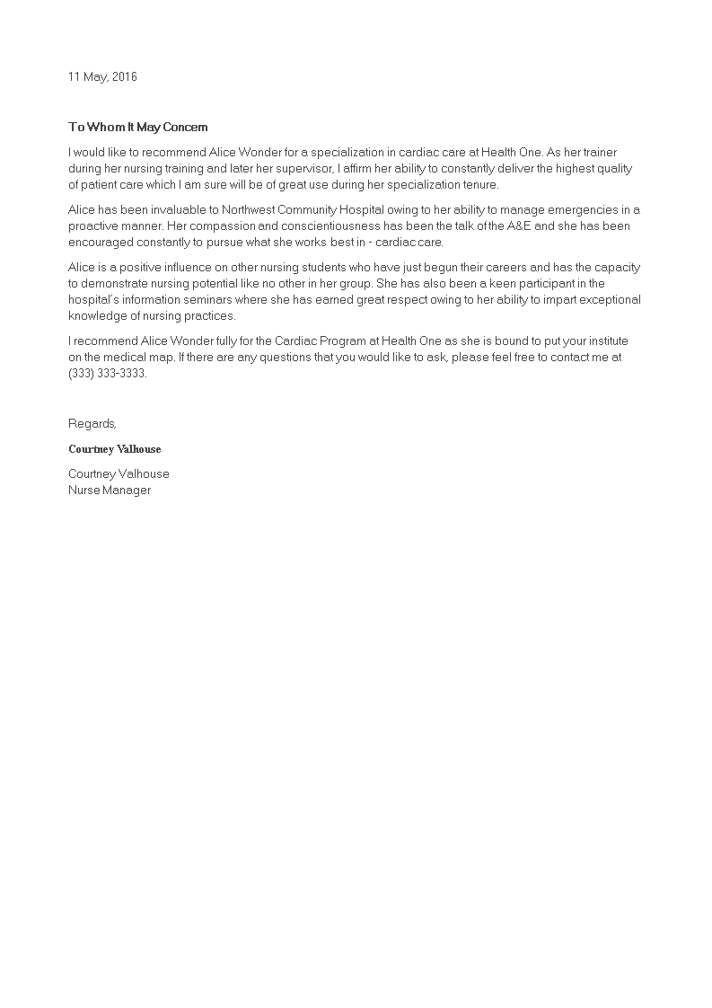 Reference Letter For Student from www.allbusinesstemplates.com