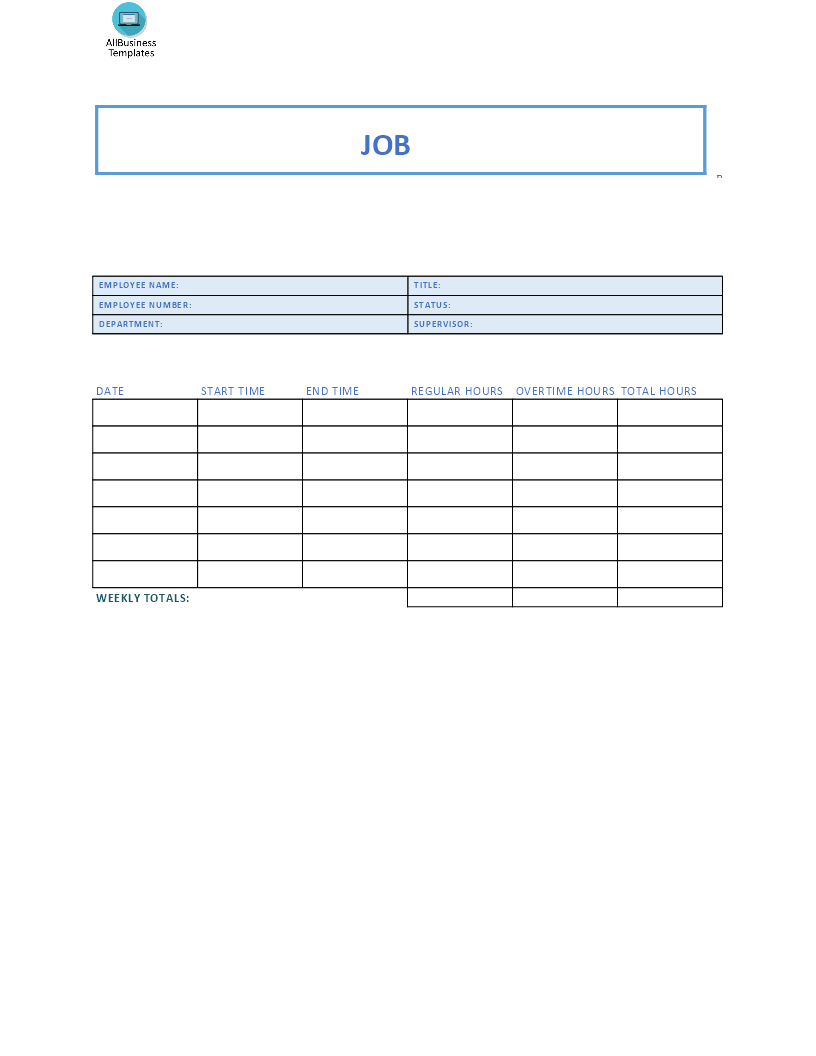 Free job sheet format templates at allbusinesstemplatescom for Rft template