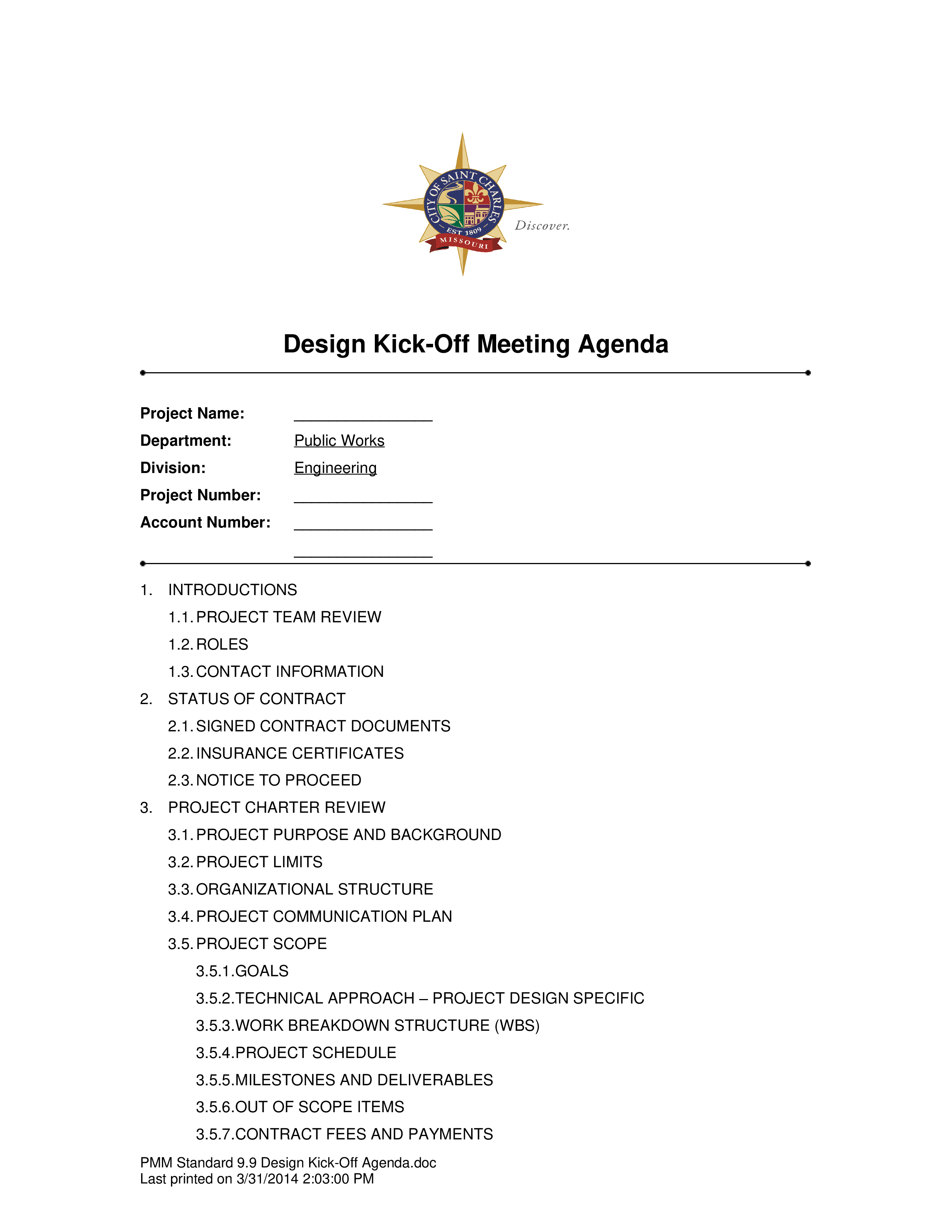 Design Kick Off Meeting Agenda Main Image Template
