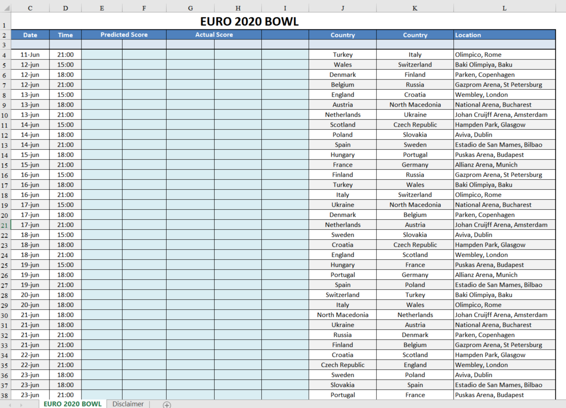 image relating to Printable Bowl Schedule called Printable Playoff Bowl Routine Templates at