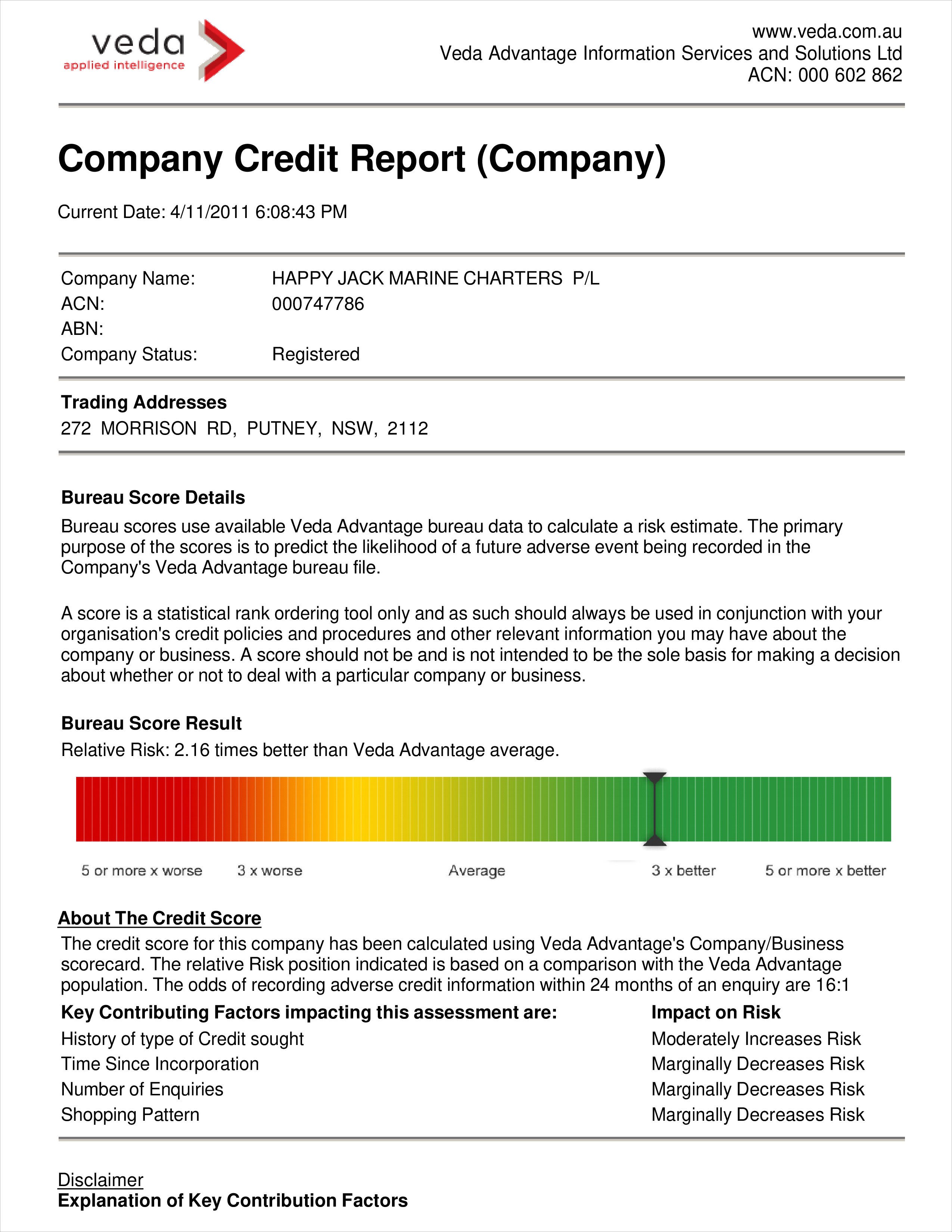 Free company credit report templates at allbusinesstemplates company credit report main image download template accmission Choice Image