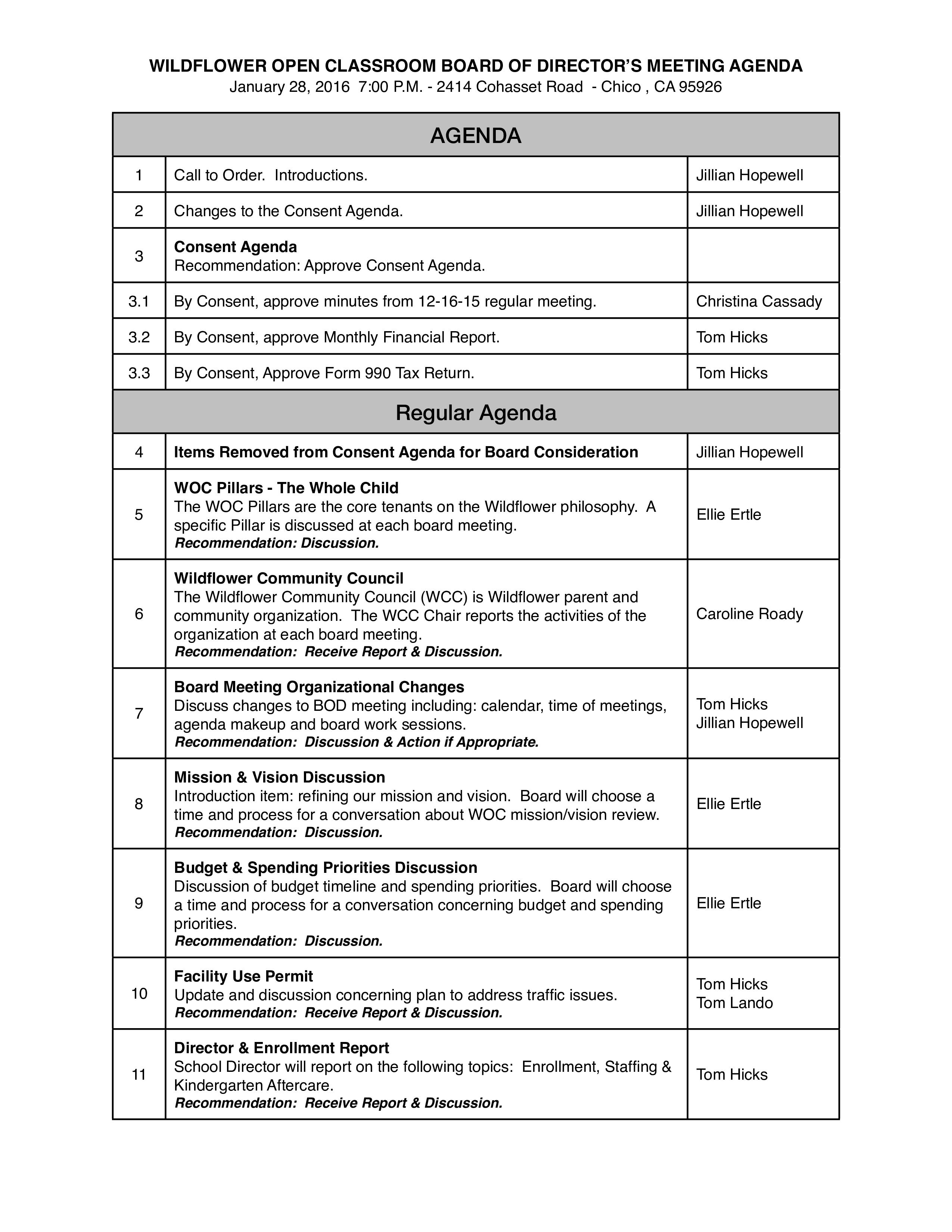 Free vision board agenda templates at allbusinesstemplates vision board agenda main image download template maxwellsz
