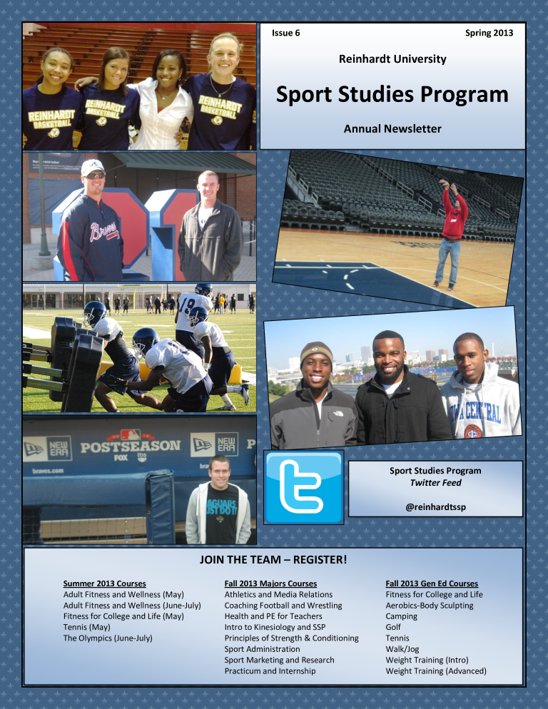 Sports Newsletter Main Image Download Template
