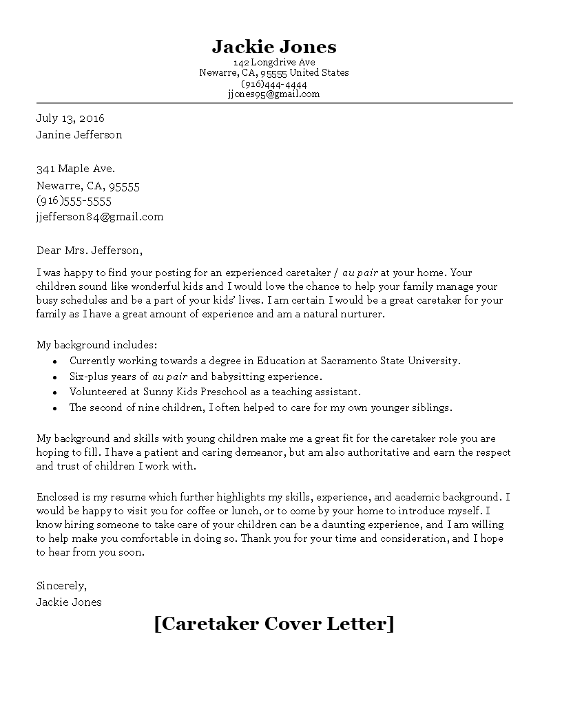 cbcd cover letter