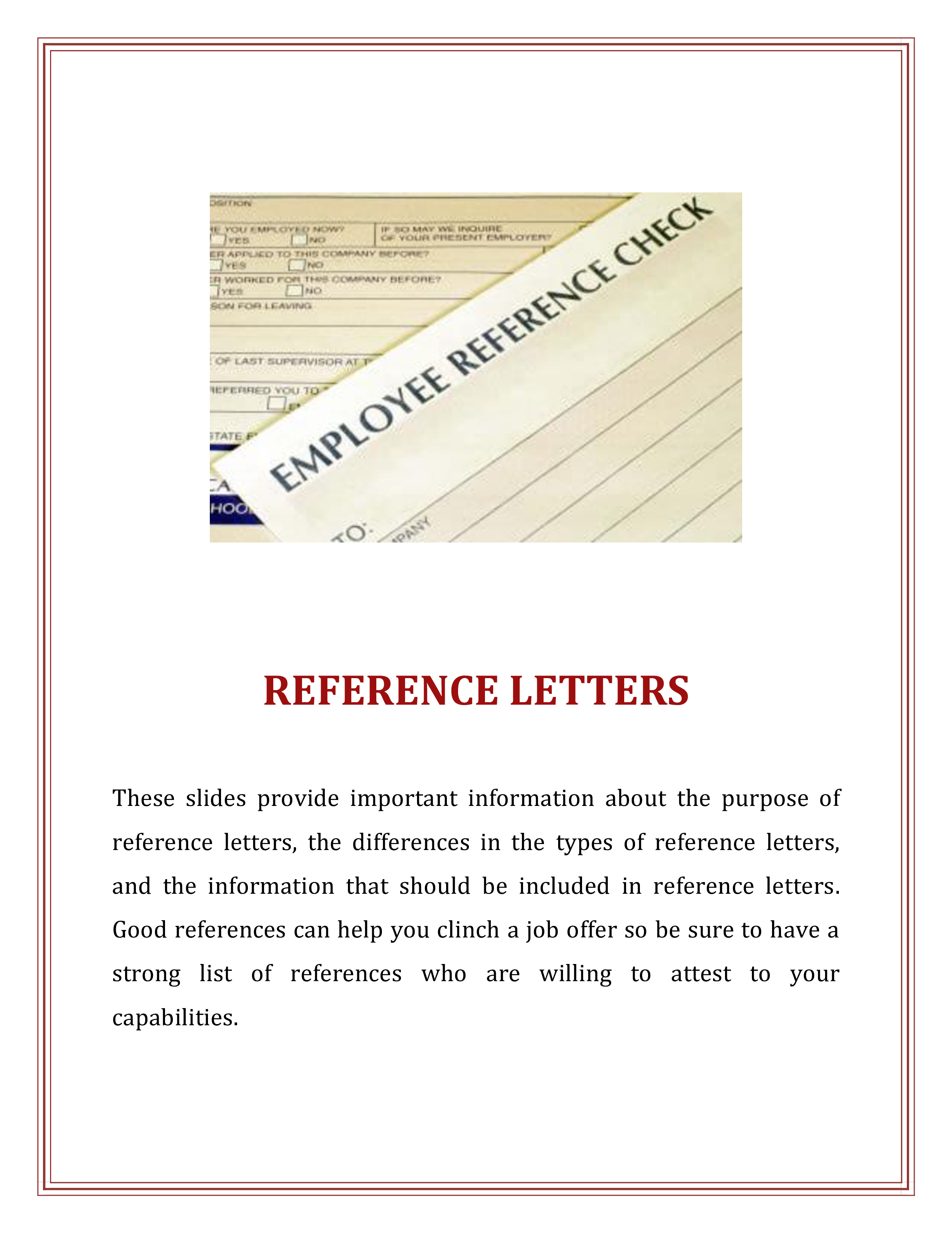 Job Reference Letter Example from www.allbusinesstemplates.com