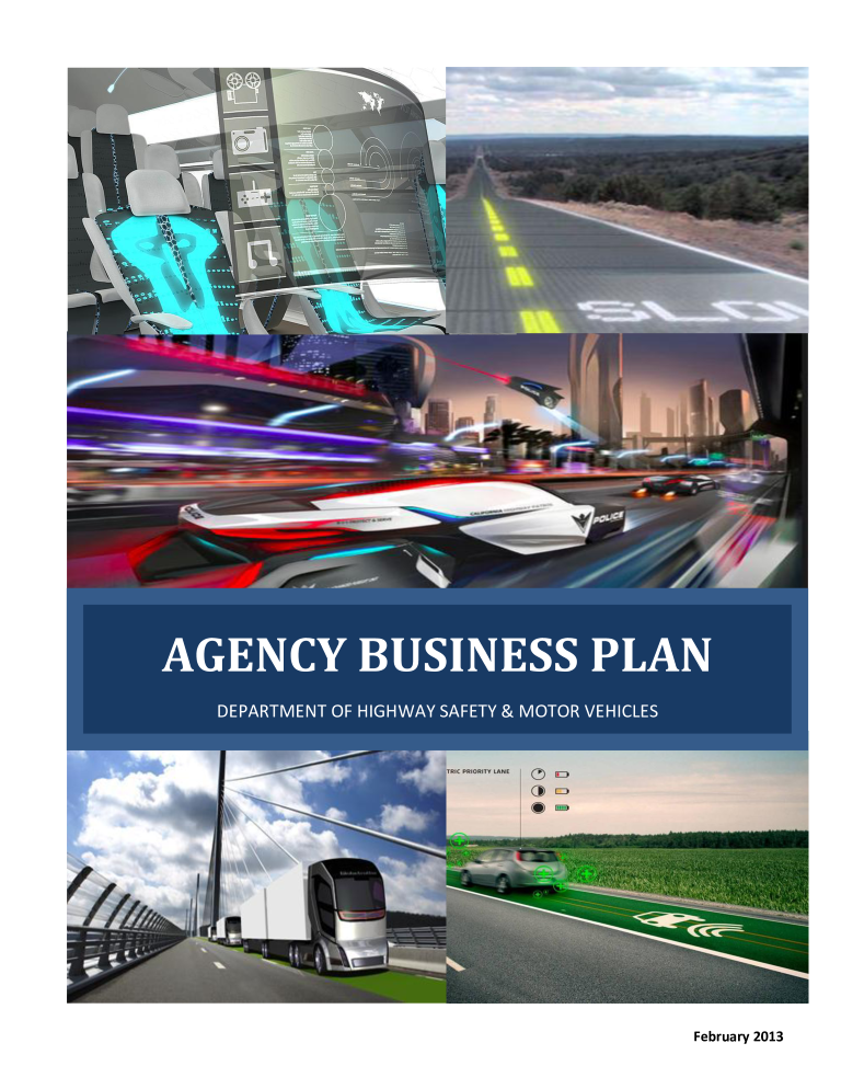Highway Safety Agency Business Plan main image
