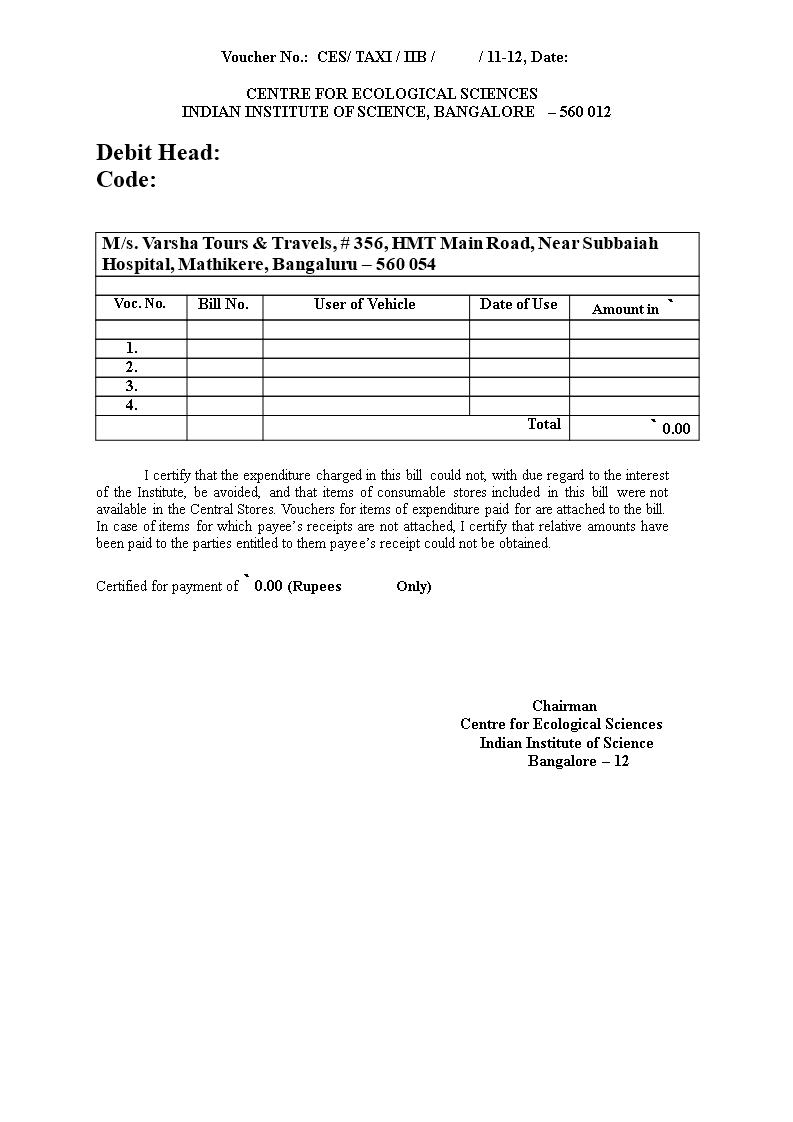 Taxi Bill Receipt Templates At Allbusinesstemplates Com