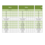 template topic preview image Yahtzee Score Sheets in excel