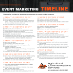 template topic preview image Event Marketing Timeline