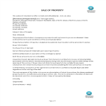 template topic preview image Sale Of Property Offer Letter