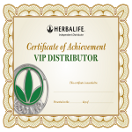 template topic preview image Distributor Certificate Of Achievement
