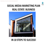 template topic preview image Real Estate Social Media Marketing Plan