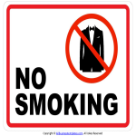 template topic preview image No Smoking Sign