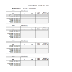 template topic preview image Payroll Time sheet sample