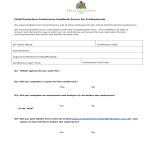 template topic preview image Child Conference Forms For Professionals