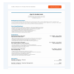 template topic preview image Banking Operations Manager Resume