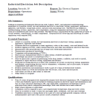 template topic preview image Industrial Electrician Job Description