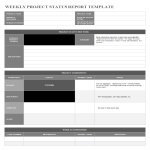 template topic preview image Multiple project tracking template Excel