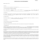 image Certificate of Incorporation
