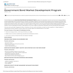 template topic preview image Government Bond Market Development Program