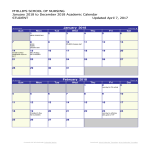 template topic preview image Student Academic Calendar 2018