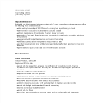 template topic preview image Junior Corporate Accountant Resume