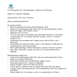 template topic preview image HouseKeeping Supervisor Job Description