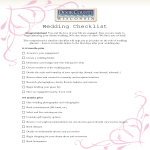 template topic preview image Wedding Day Items Checklist
